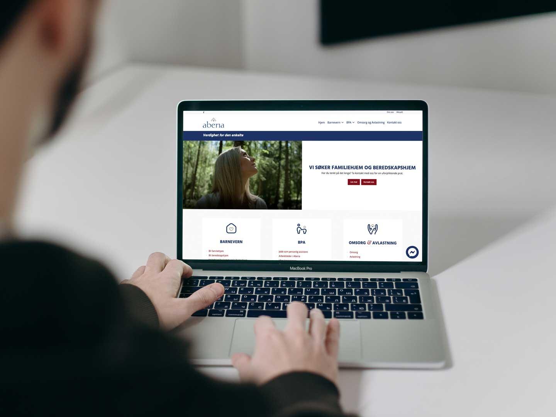Ny hjemmeside til Aberia