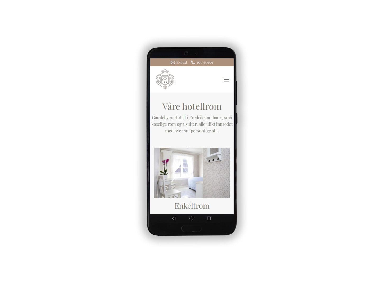 Gamlebyen Hotell med ny hjemmeside