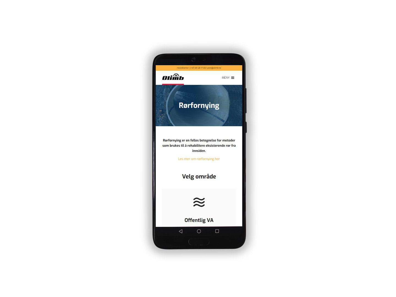 Olimb tjenesteside mobil