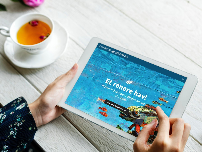 Rivers.Global med ny hjemmeside